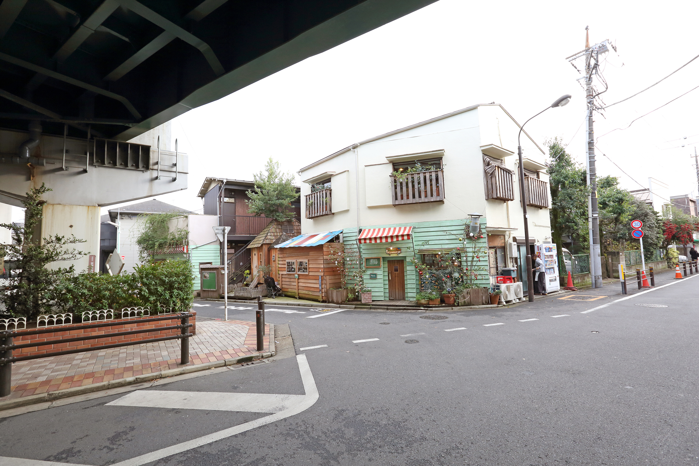 道案内5(十字路を左折)
