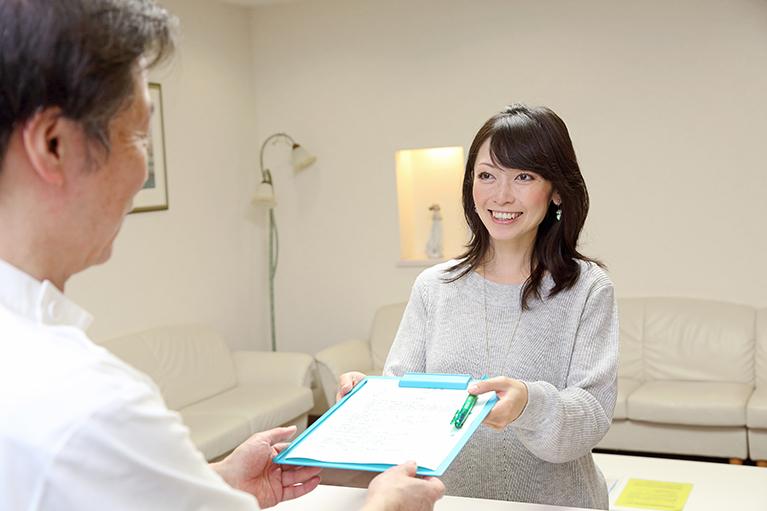 3.予約制なので、待ち時間少なく診察が受けられます。